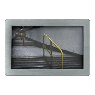 Underground Subway at Bank Belt Buckle