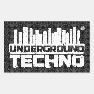 Underground Techno - Sticker