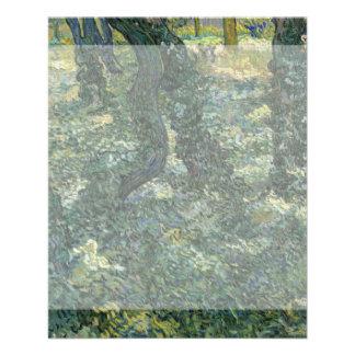Undergrowth by Vincent Van Gogh 11.5 Cm X 14 Cm Flyer