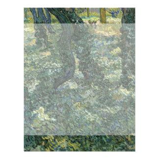 Undergrowth by Vincent Van Gogh Flyer Design