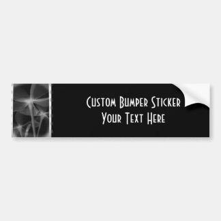 Underneath Flowers - Infrared B&W Negative Bumper Sticker