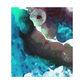 Underneath The Sea Abstract Canvas Print