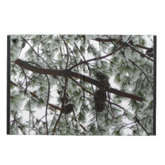 Underneath the Snow Covered Pine Tree Winter Photo Powis iPad Air 2 Case