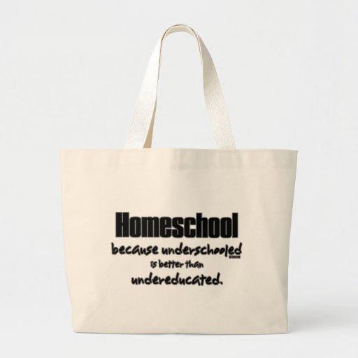 Underschooled Jumbo Tote Bag