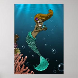 Undersea Friendship Poster