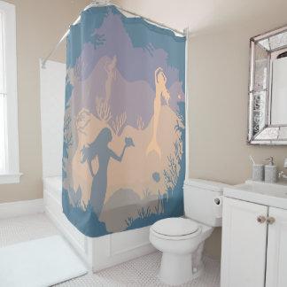 Undersea Mermaid Reef | Shower Curtain