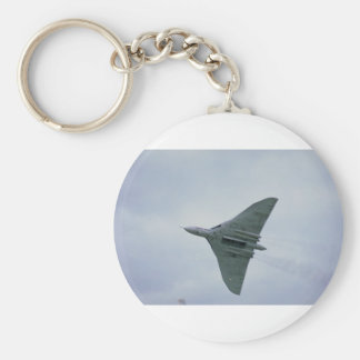 Underside of Vulcan bomber, with bomb doors open Basic Round Button Key Ring
