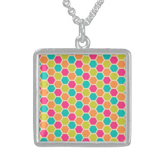 Understanding Lucky Attractive Believe Square Pendant Necklace