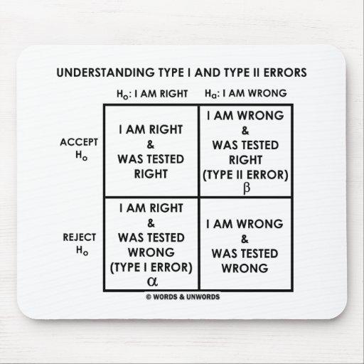 Understanding Type I And Type II Errors Statistics Mousepads