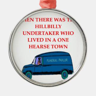 undertaker joke christmas ornaments