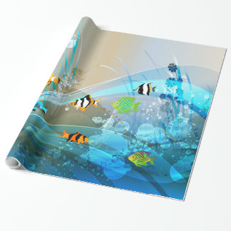 Underwater 1 Wrapping Paper