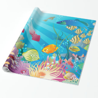 Underwater 2 Wrapping Paper