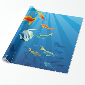 Underwater 3 Wrapping Paper