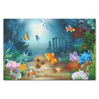 Underwater 4 tissue paper