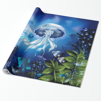 Underwater 6A Wrapping Paper