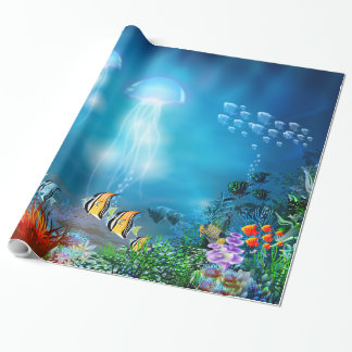 Underwater 7 Wrapping Paper