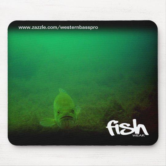 Underwater Bass Mousepad