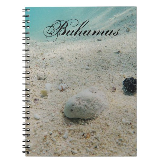 Underwater Beach Life Spiral Notebook