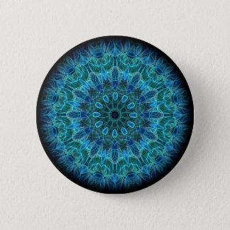 Underwater Beauty kaleidoscope 6 Cm Round Badge