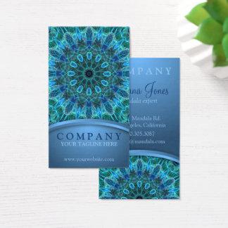 Underwater Beauty Mandala Business Card