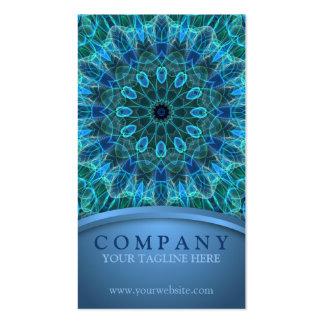 Underwater Beauty Mandala Business Cards