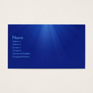 Underwater Business Card