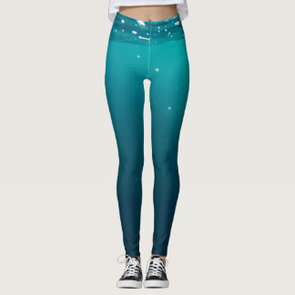 Underwater colors leggings
