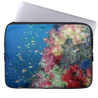 Underwater coral reef, Indonesia Laptop Sleeve
