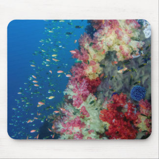 Underwater coral reef, Indonesia Mouse Mat