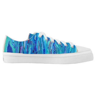 Underwater Design Shoes Printed Shoes