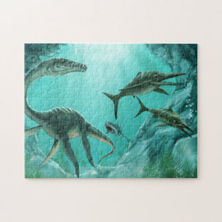 Underwater Dinosaur Puzzle