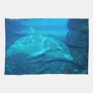 Underwater Dolphin Kitchen Towel