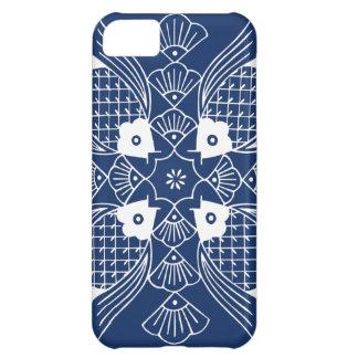 Underwater Fish Design with Blue Background iPhone 5C Case