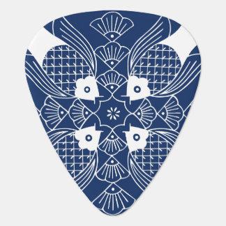 Underwater Fish Design with Blue Background Plectrum