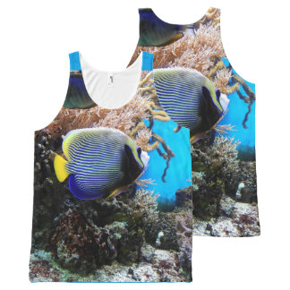 Underwater Fish Photography Print All-Over Print Tank Top
