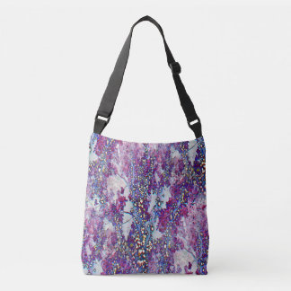 Underwater Forest (violet) Crossbody Bag