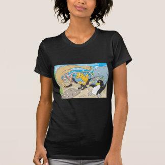 Underwater Hockey by Animals T-Shirt