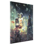 Underwater Kingdom Wrapped Canvas Stretched Canvas Print