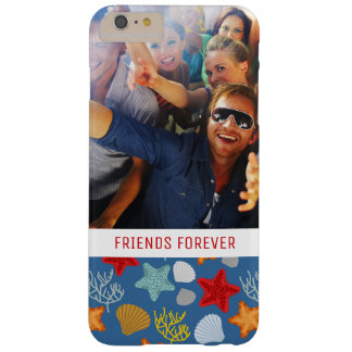 Underwater Life Pattern | Your Photo & Text Barely There iPhone 6 Plus Case