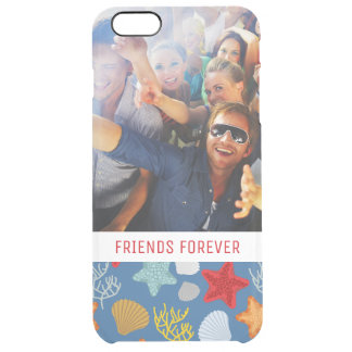 Underwater Life Pattern | Your Photo & Text Clear iPhone 6 Plus Case