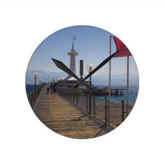 Underwater Marine Park, observation tower 2 Round Clock