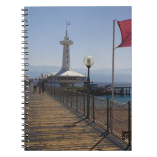 Underwater Marine Park, observation tower 2 Spiral Notebook