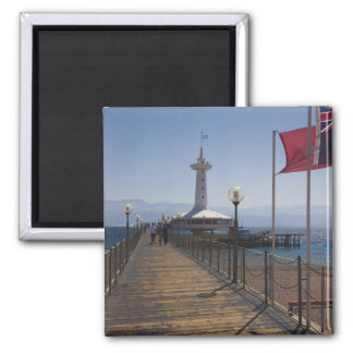 Underwater Marine Park, observation tower 2 Square Magnet