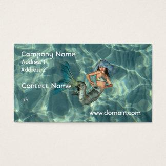 Underwater Mermaid Business Card