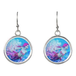 Underwater Mermaid Earrings