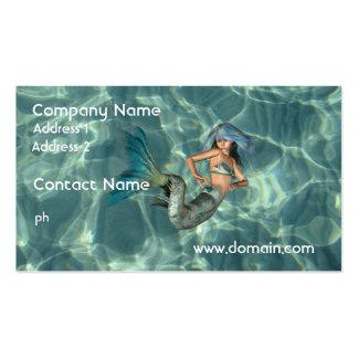 Underwater Mermaid Pack Of Standard Business Cards