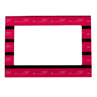 underwater pink mermaids swimming magnetic frame