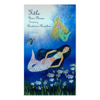 Underwater Play (Mermaid) Pack Of Standard Business Cards