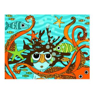 Underwater Postcard