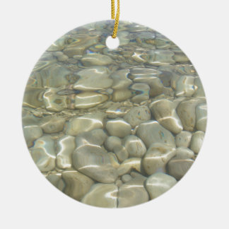 Underwater Rocks Christmas Ornament